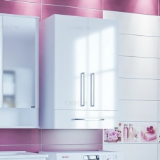 Шкаф подвесной СаНта Вегас 600*900, 1 ящик над стиральной машиной