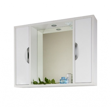 Зеркало Vod-ok Габи 100 см Белое