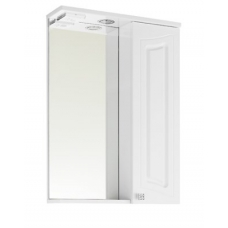 Зеркало Vod-ok Адам 65 см Белый ПР