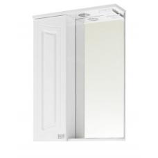 Зеркало Vod-ok Адам 55 см Белый ЛВ