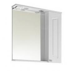 Зеркало Vod-ok Адам 75 см Белый ПР