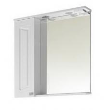 Зеркало Vod-ok Адам 75 см Белый ЛВ