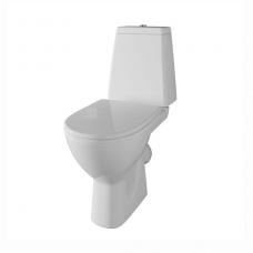 Унитаз напольный Cersanit GRANTA 031 S-KO-GRA031-3/6-DL-w сиденье дюропласт