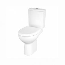 Унитаз напольный Cersanit NATURE NEW CLEAN ON 011 S-KO-NTR011-3/5-COn-DL-w сиденье дюропласт