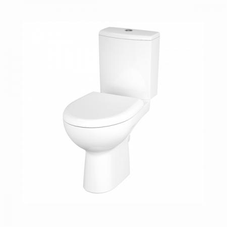 Унитаз напольный Cersanit NATURE CLEAN ON 011 S-KO-NTR011-3/5-COn-DL-w сиденье дюропласт