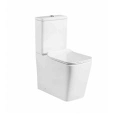 Унитаз Milleau напольный ONYX 8380 (унитаз + сиденье из дюропласта с микролифтом)