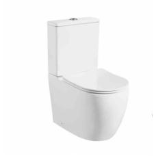 Унитаз Milleau напольный ROCHE 8381 (унитаз + сиденье из дюропласта с микролифтом)
