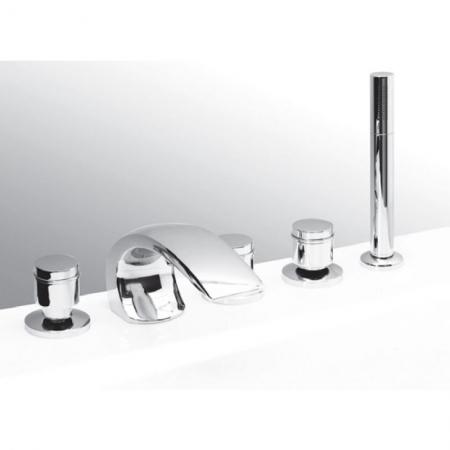Смеситель Vega Arco Lux на борт ванны (5 эл.)