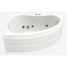 Акриловая ванна Bas Алегра 150x90 L с гидромассажем