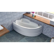 Акриловая ванна Bellsan Виола 1600*1000*620 R без гидромассажа