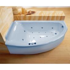 Ванна Astra-Form Анастасия левая белая