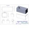 Ванна Astra-Form Нейт 150x70 белая