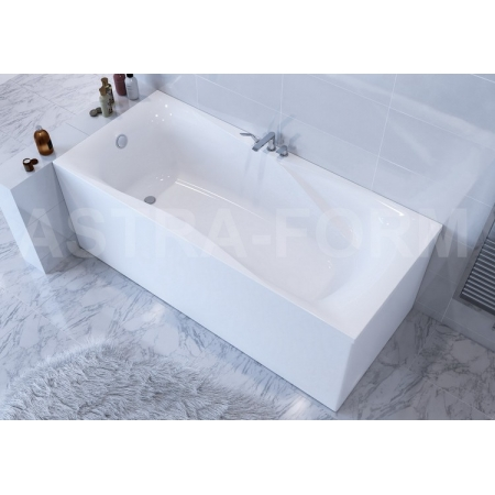 Ванна Astra-Form Вега Люкс 180*80 белая