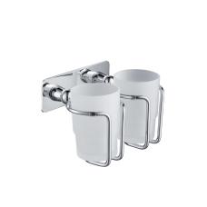 Стакан Timo Nelson 150032/00 chrome для зубных щеток