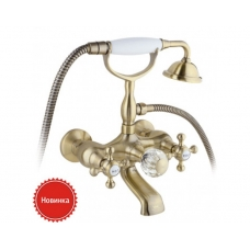 Смеситель Timo Nelson 1914/02Y-CR antique (ванна кор. излив)