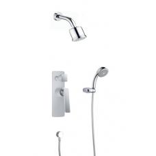 Душевой комплект скрытого монтажа Timo Helmi SX-4059/00-16SM chrome white (2-х режимная)