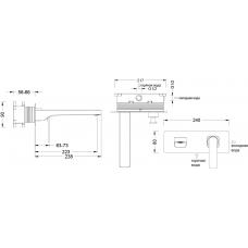 Смеситель Timo Hette 1026/00F chrome (кухня с подключением фильтра)