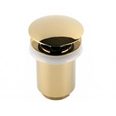 Донный клапан для раковины Timo 8011/07 gold (автомат)