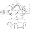 Ванна в сборе Polyagram Verona 143*143