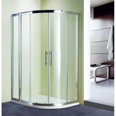 Душевой уголок ассиметричный Royal Glass of Water RGW HO-61 серия Hotel 100х130х190 см прозрачное стекло (Easy Clean)