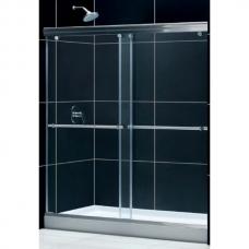 Душевая дверь раздвижная двухстворчатая Royal Glass of Water RGW TO-11 серия Tornado 160x195 см прозрачное стекло