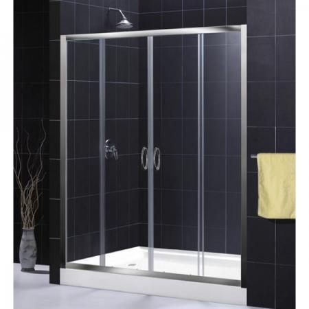 Душевая дверь раздвижная Royal Glass of Water RGW PA-11 серия Passage 200x195 см матовое стекло
