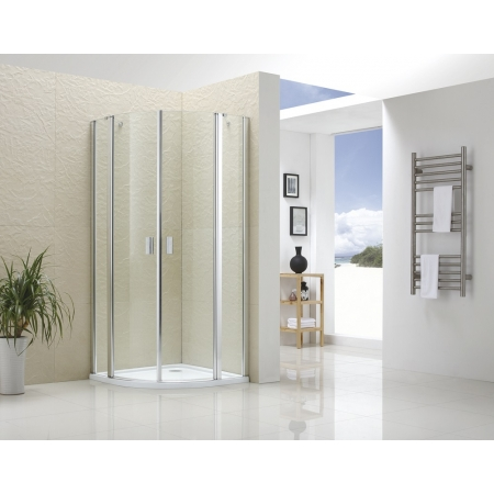 Душевой уголок Royal Glass of Water RGW-2906 100х100х195 см стекло прозрачное Easy cleaning