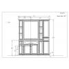 Комплект мебели Opadiris Корсо Оро комплект 7, Слоновая кость