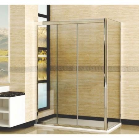 Душевой уголок прямоугольный Royal Glass of Water RGW CL-40 серия Classic (116-121)х90х185 см стекло прозрачное (Easy Clean)