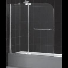 Шторка на ванну распашная маятниковая Royal Glass of Water RGW SC-19 серия Screen 120х150 см стекло прозрачное