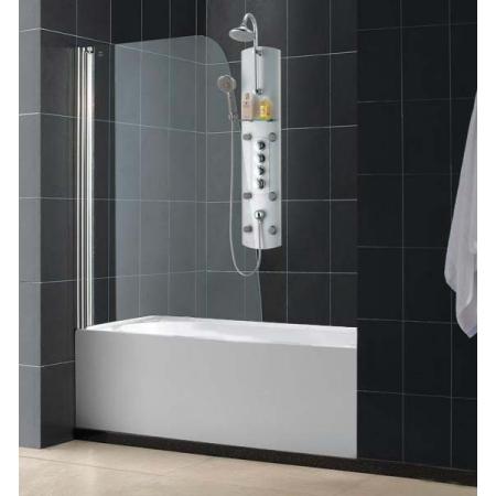 Шторка на ванну распашная маятниковая Royal Glass of Water RGW SC-36 серия Screen 70х150 см стекло прозрачное