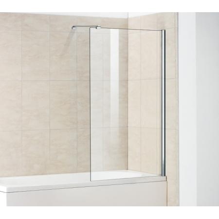 Шторка на ванну стационарная неподвижная Royal Glass of Water RGW SC-52 серия Screen 80х150 см стекло прозрачное (Easy Clean)