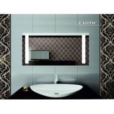 Зеркало для ванной комнаты с подсветкой Forum Exotic 100*65 см