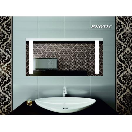 Зеркало для ванной комнаты с подсветкой Forum Exotic 70*60 см