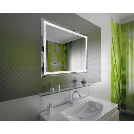 Зеркало для ванной комнаты с подсветкой Forum Indigo 75*100 см