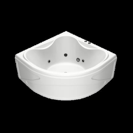 Акриловая ванна Bas Риола 135x135 с гидромассажем