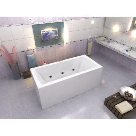 Акриловая ванна Bas Индика 170x80 с гидромассажем