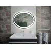 Зеркало для ванной комнаты с подсветкой Forum Lake (Ellipse-Oval) 80*60 см