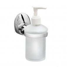 Дозатор для мыла Raiber R70116 стеклянный настенный