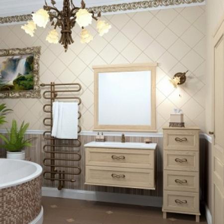 Комплект мебели Opadiris Гарда 90 Бьянко