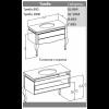 Комплект мебели Opadiris Фреско 80
