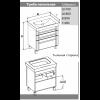 Комплект мебели Opadiris Лаварро 70 напольный