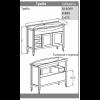 Комплект мебели Opadiris Мираж 105