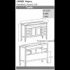 Комплект мебели Opadiris Мираж 120