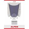 Душевая шторка ALPEN A160-90