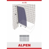 Душевая шторка на ванну ALPEN A170N-100