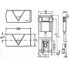 Инсталляция для подвесного унитаза Viega Eco Plus 3в1 (660338)