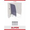 Душевая шторка на ванну ALPEN A170N-90