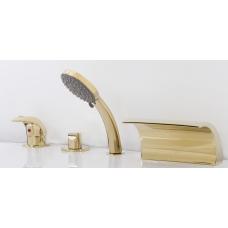 Смеситель на борт ванны ALPEN Granada золото