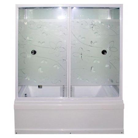Душевая кабина Erlit ER SYD 170W-2 (167*90*220 см.) прозрачное стекло с узором